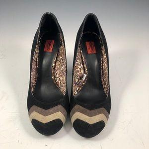 MISSONI for Target Black Heels